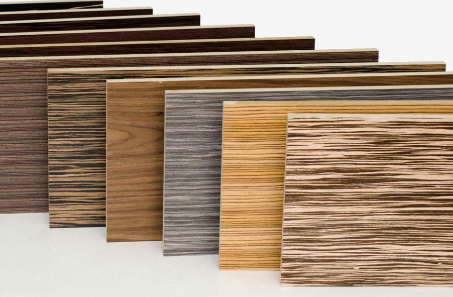 Древесные породы для производства шпона