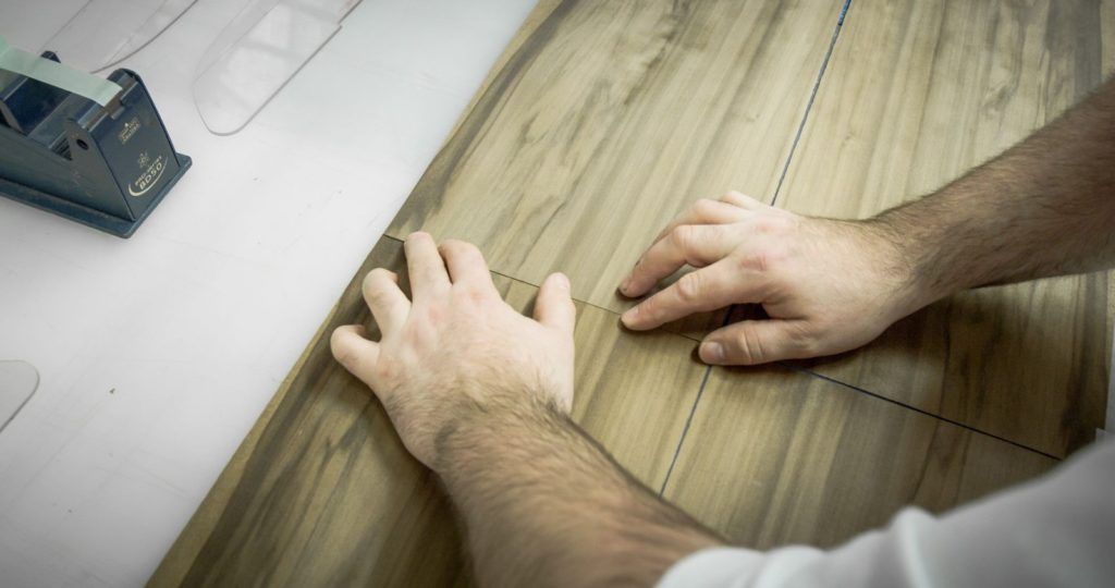 Техника соединения шпона